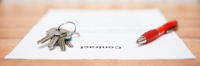 Publicaciones inmobiliarias. Contratos de alquiler.