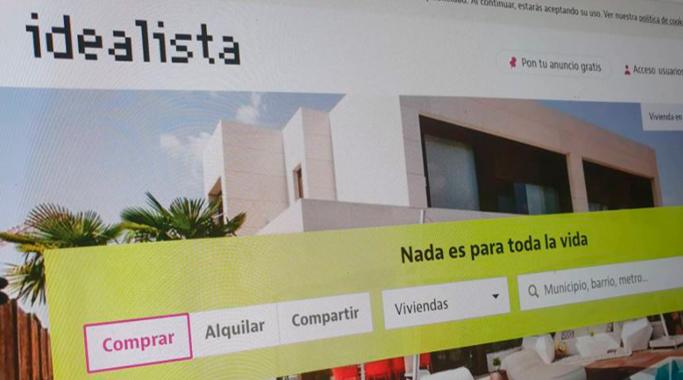 Operación de más de 1300 millones en la compra del portal inmobiliario idealista