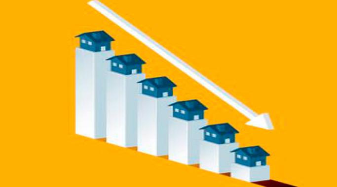Caída del 12% en agosto la venta de viviendas