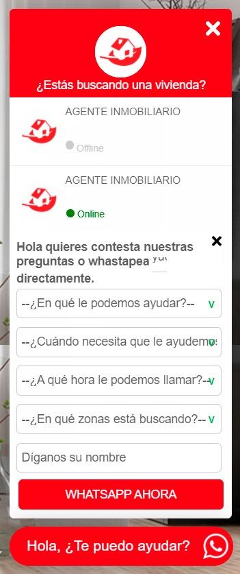 burbuja WhatsApp business marketing inmobiliario
